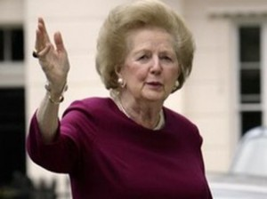 Lady Margaret Thatcher, 8 March 2008
