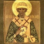 St. Peter of Alexandria, Bishop, Martyr