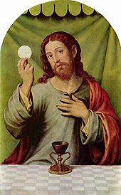 Jesus host eucharist