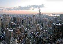 NYC New York city skyscrapers buildings