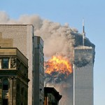 UA_Flight_175_hits_WTC_south_tower_9-11 terror attack twin towers