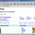 Internet_Explorer webpage Microsoft