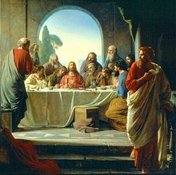 Judas leaving The Last Supper