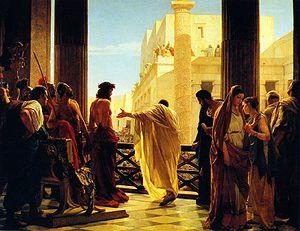 Ecce homo Jesus Pilate