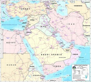 Middle_east map Turkey Iran Saudi Arabia Iraq Syria