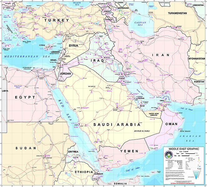 Middleeast Map Turkey Iran Saudi Arabia Iraq Syria Catholic Lane - Map of syria and turkey