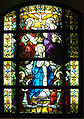 stained glass Coronation_of_Mary