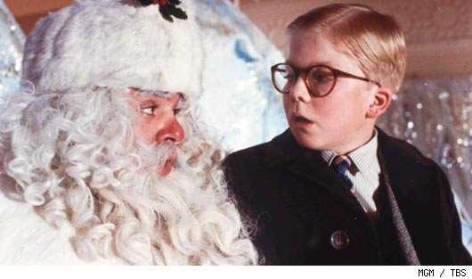 A-Christmas-story-Ralphie-with-Santa | Catholic Lane