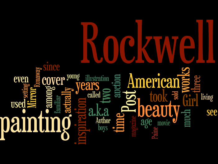 A-Rockwell-Centenary-Wordle