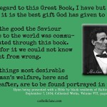 Abraham Lincoln on the Bible