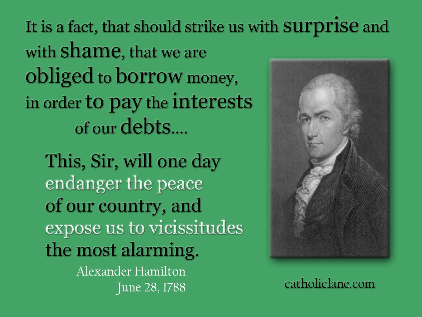 Alexander Hamilton Quotes On Economy Quotesgram