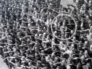 August Landmesser — Hamburg — 13 June 1936