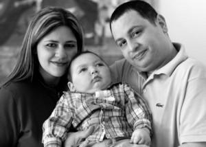 Baby Joseph with family
