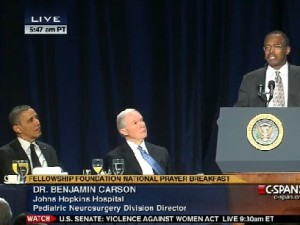 Dr. Benjamin Carson - National Prayer Breakfast