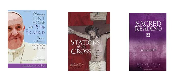 Three New Lenten Resources
