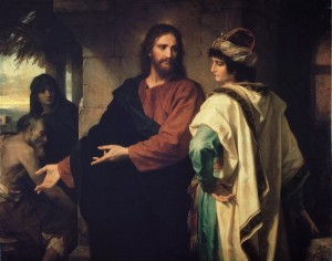 Heinrich Hofmann, Christ and the Rich Young Ruler
