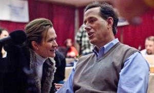 Karen & Rick Santorum
