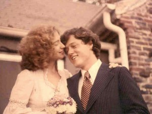 Bill and Hillary Clinton, October 11, 1975