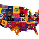 College Sports Map