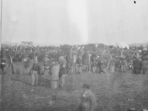 Crowd at Gettysburg Address