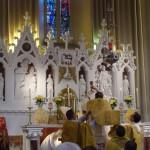Card. Raymond Burke Celebrates Pontifical High Mass at Knock Shrine