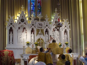 Pontifical High Mass. Ireland's Shrine at Knock[3]