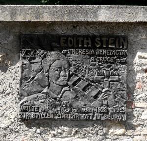 Edith_Stein plaque