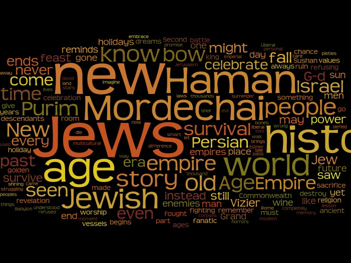 Endless Ages of Purim Wordle