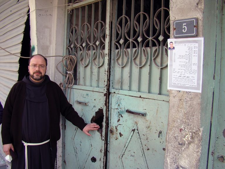Father Ibrahim, ACN photo