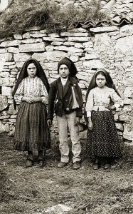 The three Fatima visionaries