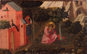 Conversion of St. Augustine by Fra Angelico