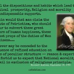 George Washington on Religion and Morality