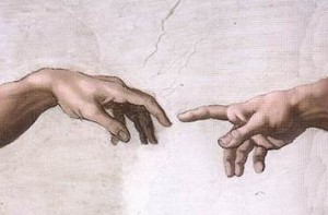 Hands_of_God_and_Adam creation
