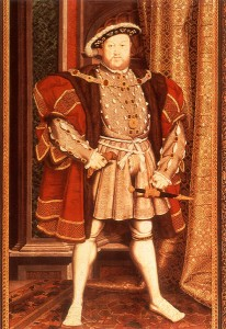 King Henry VIII of England (1491-1547)