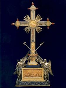 Holy Cross reliquary