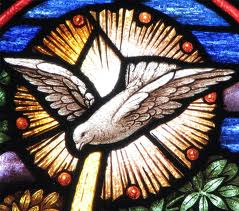 Holy Spirit dove stained glass detail[2]