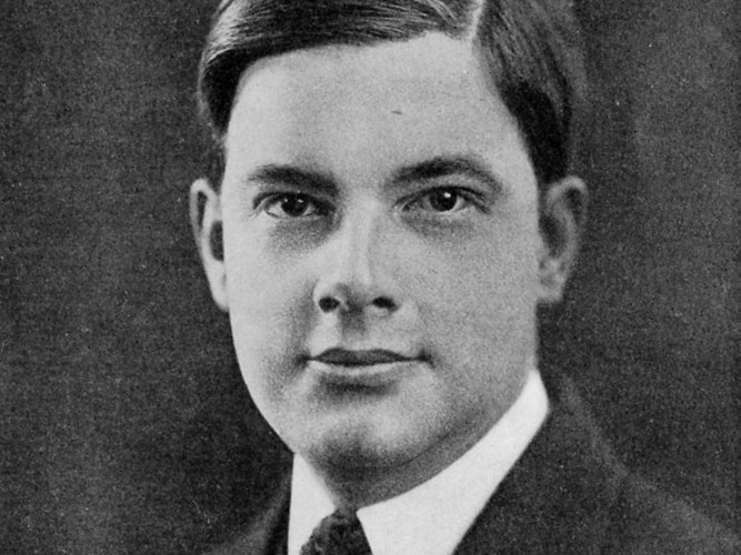 Joyce Kilmer - from Last Civilian Portrait, 1917.