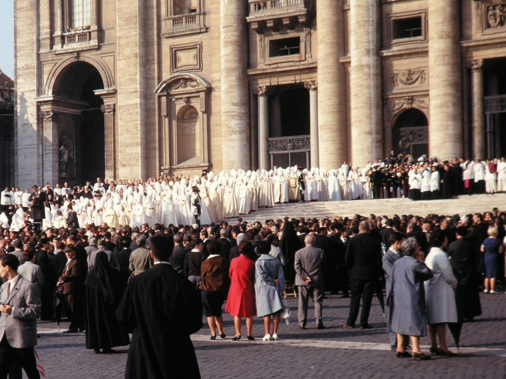Grand Procession of Vatican II Council Fathers, 11 October 1962