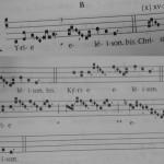 Lenten Music: Kyrie XVII (B)