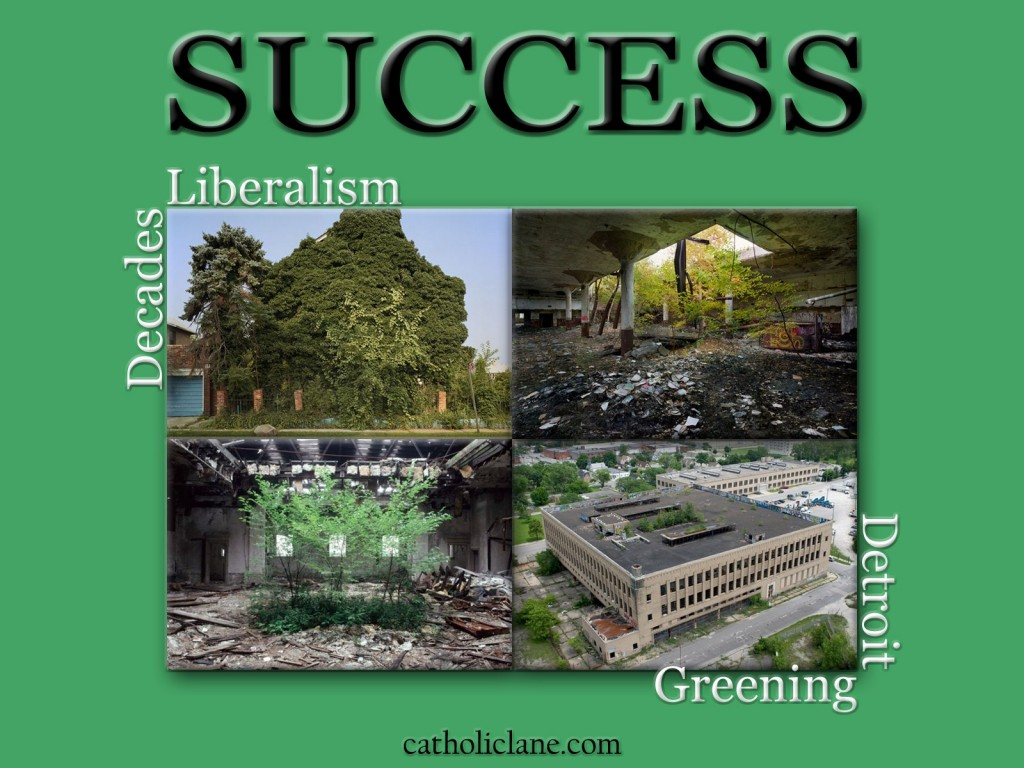 Decades - Liberalism - Greening - Detroit