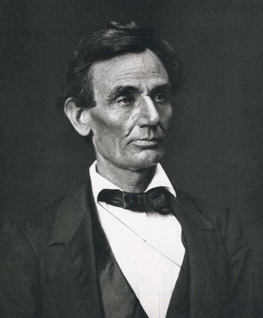 Abraham Lincoln by Alexander Hesler, June 3, 1860, Springfield, Illinois