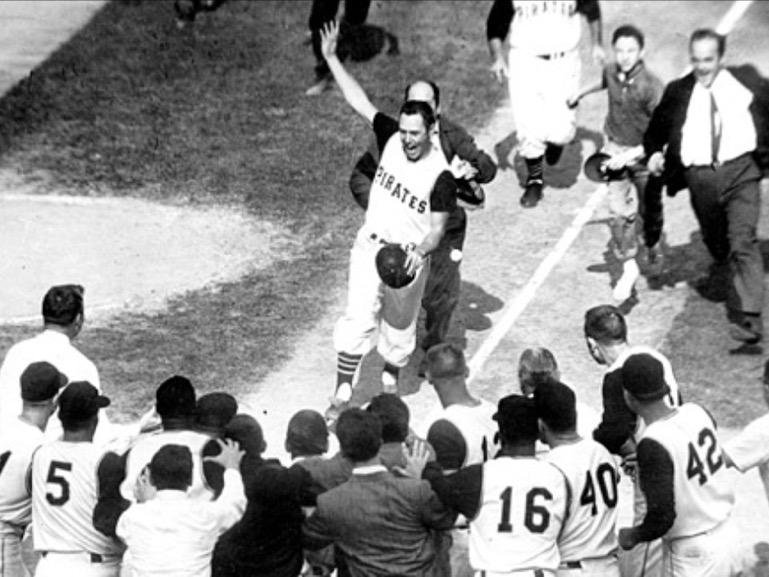 Bill Mazeroski's Famous Walk-Off Home Run, 1960 World Series, Game 7