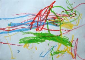 Medium marker scribble