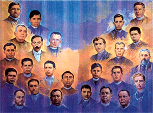 Mexican Martyrs, Cristero war
