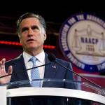 Mitt Romney at NAACP meeting