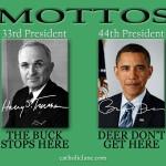 Mottos - Truman - Obama