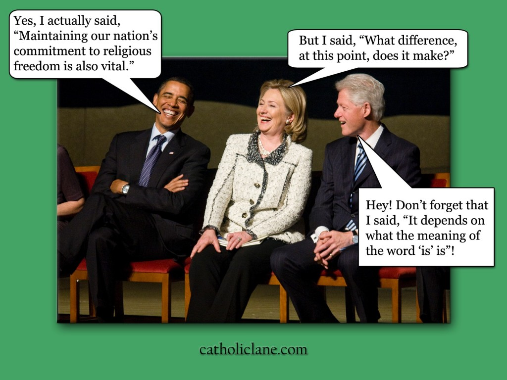 Barack Obama - Hillary Clinton - Bill Clinton