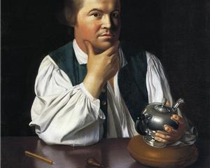 Paul Revere, J S Copley