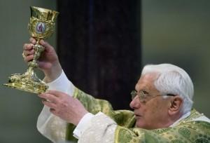 Pope Benedict mass chalice