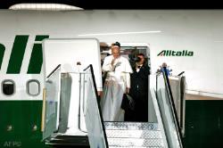 Pope Francis WYD Farewell